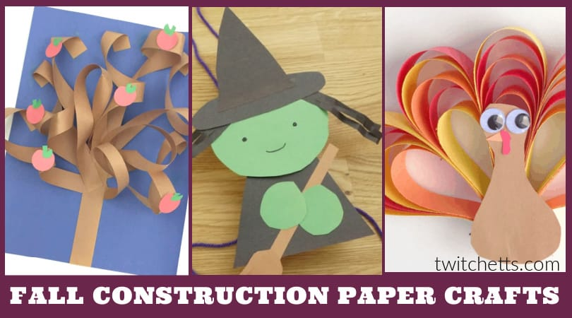 Create these easy fall construction paper crafts with your toddlers or preschoolers. These easy kids' crafts have basic supplies and simple instructions so that you can create them in your classroom or at your kitchen table.