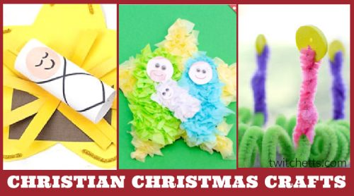 These easy Sunday School Christmas crafts for kids are perfect for keeping Christ in Christmas this holiday season. Use them during Advent, in the classroom, with your daycare, or at your kitchen table.