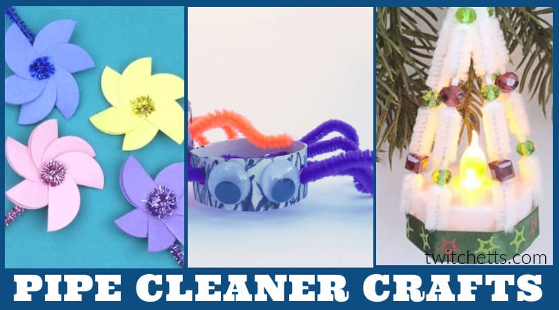 Pipe cleaner crafts are great for kids of all ages. This collection of easy crafts are perfect for the classroom or at home. From everyday crafts to holiday fun, you'll find something for everyone!
