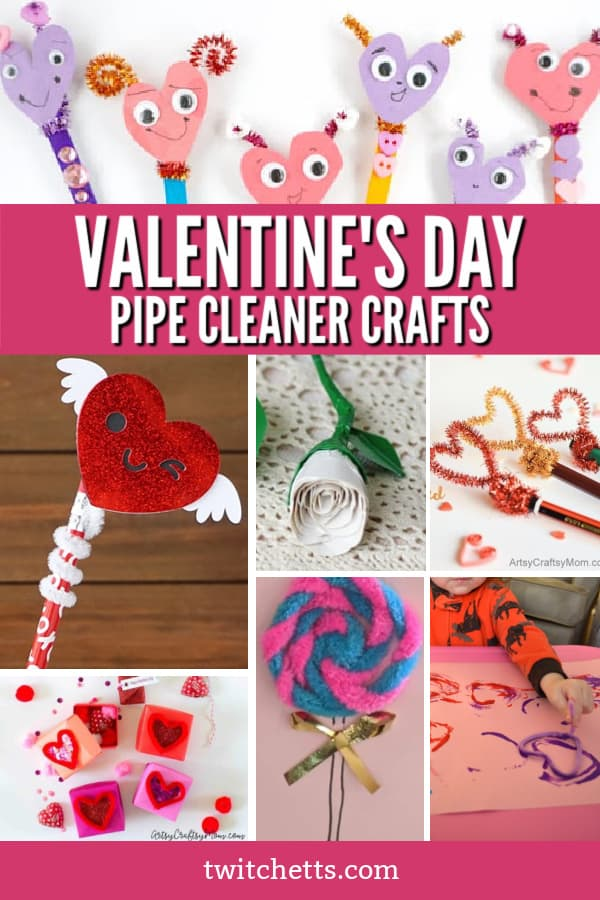 These fun pipe cleaner crafts for Valentine's Day are the perfect way to create and show your loved ones how much you care.
