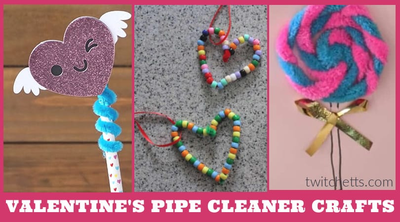 10 Pipe Cleaner Crafts for Valentine's day