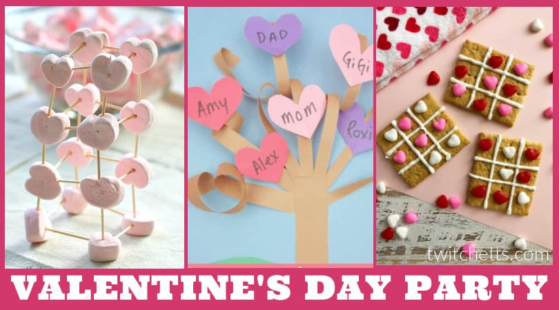 Valentine's Day classroom party ideas