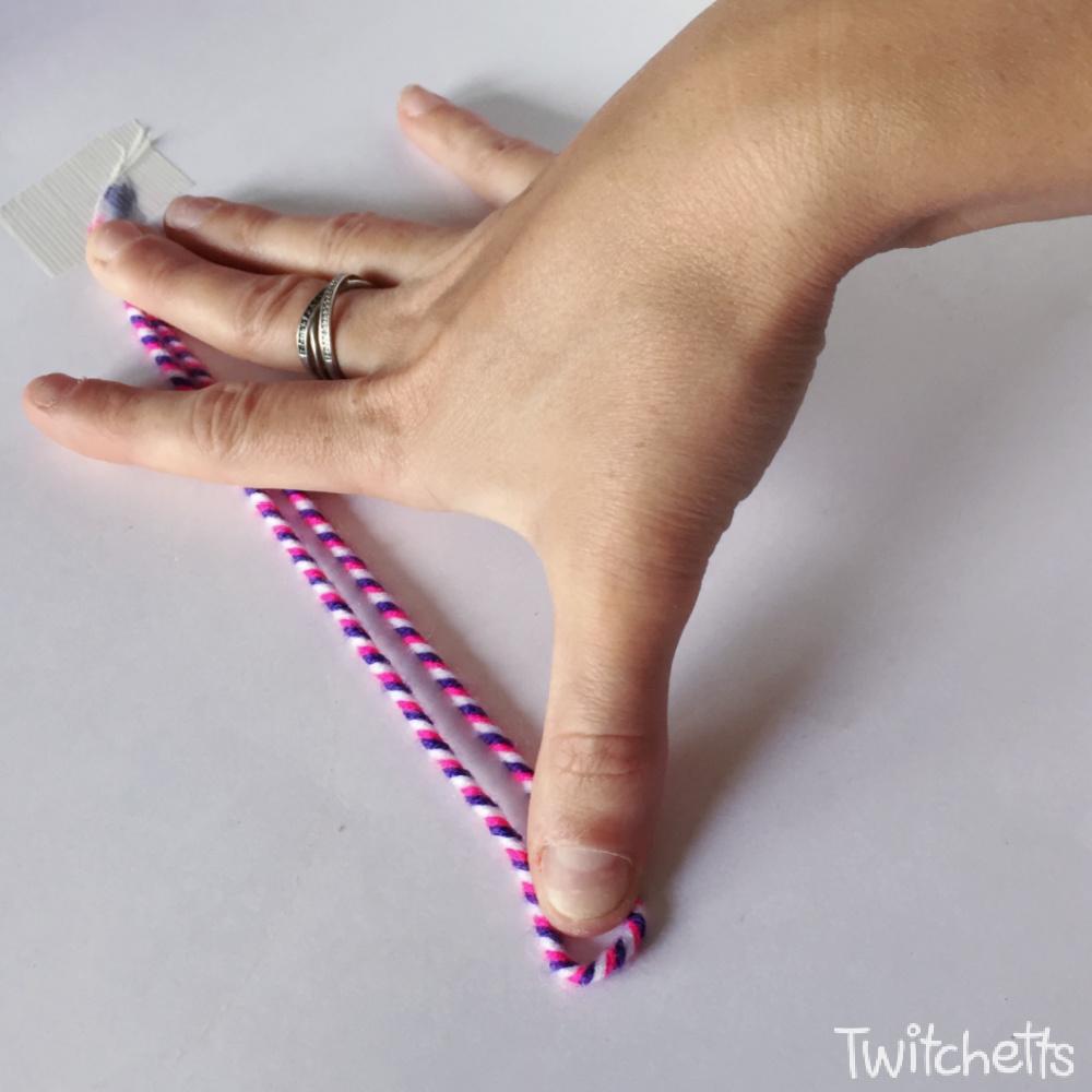 How to make twisted friendship bracelets-step 5