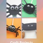 Halloween Spiders - Craft Projects