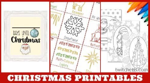 Christmas Printables.